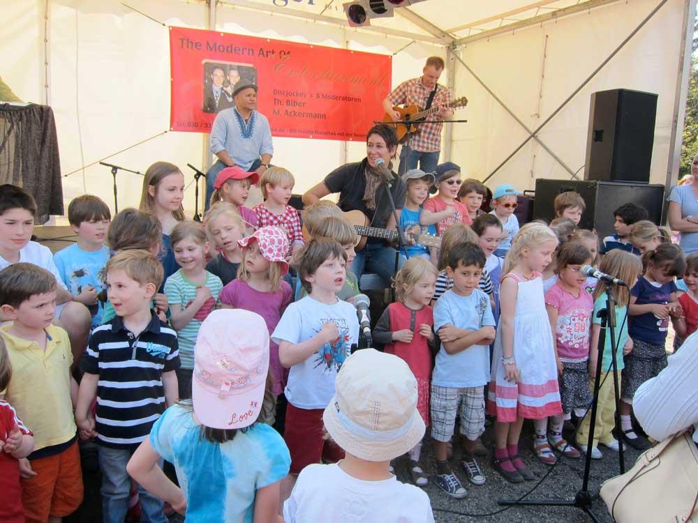 Livemusik mit und für Kinder