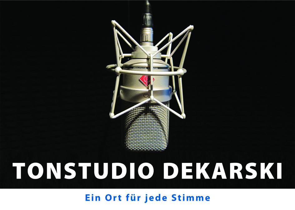 Tonstudio Dekarski Berlin- Tonproduktion, Musikproduktion, Sounddesign