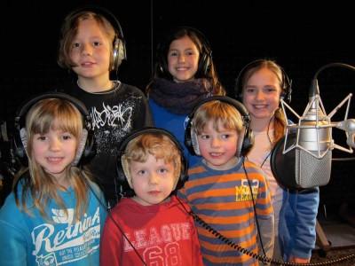 Tonstudio Berlin. Kinder und Kindergeburtstag.