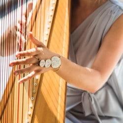 Harfe, Harfenspielerin, Harfenistin